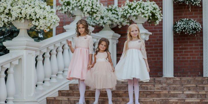 4fdbecedd84a Детские нарядные платья оптом, коллекция 2018