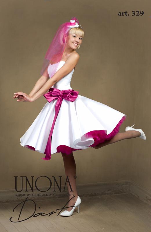 Wedding Saloon :: Свадебное платье с красным - Свадебные платья и