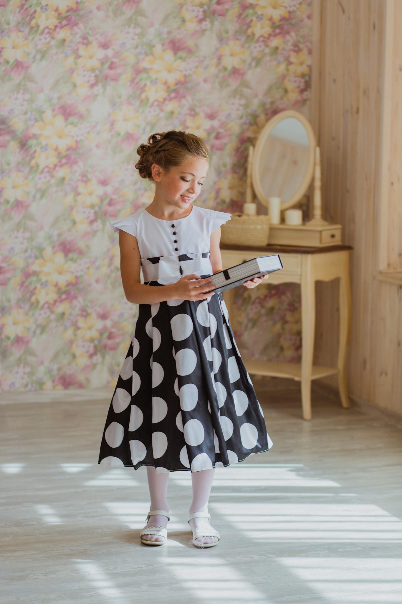выкройки кружевного детского платья
