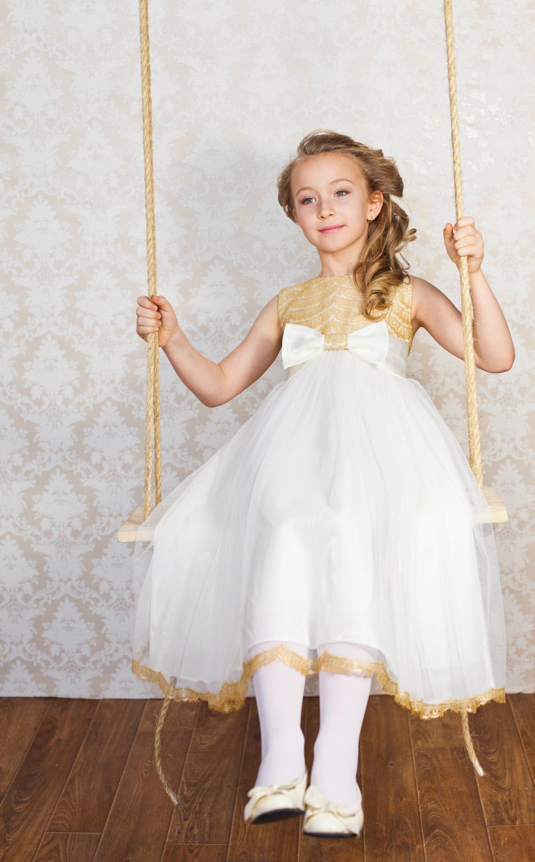 Платья для девочек бальные 456 детские