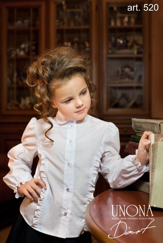 Белые Блузки Для Девочки