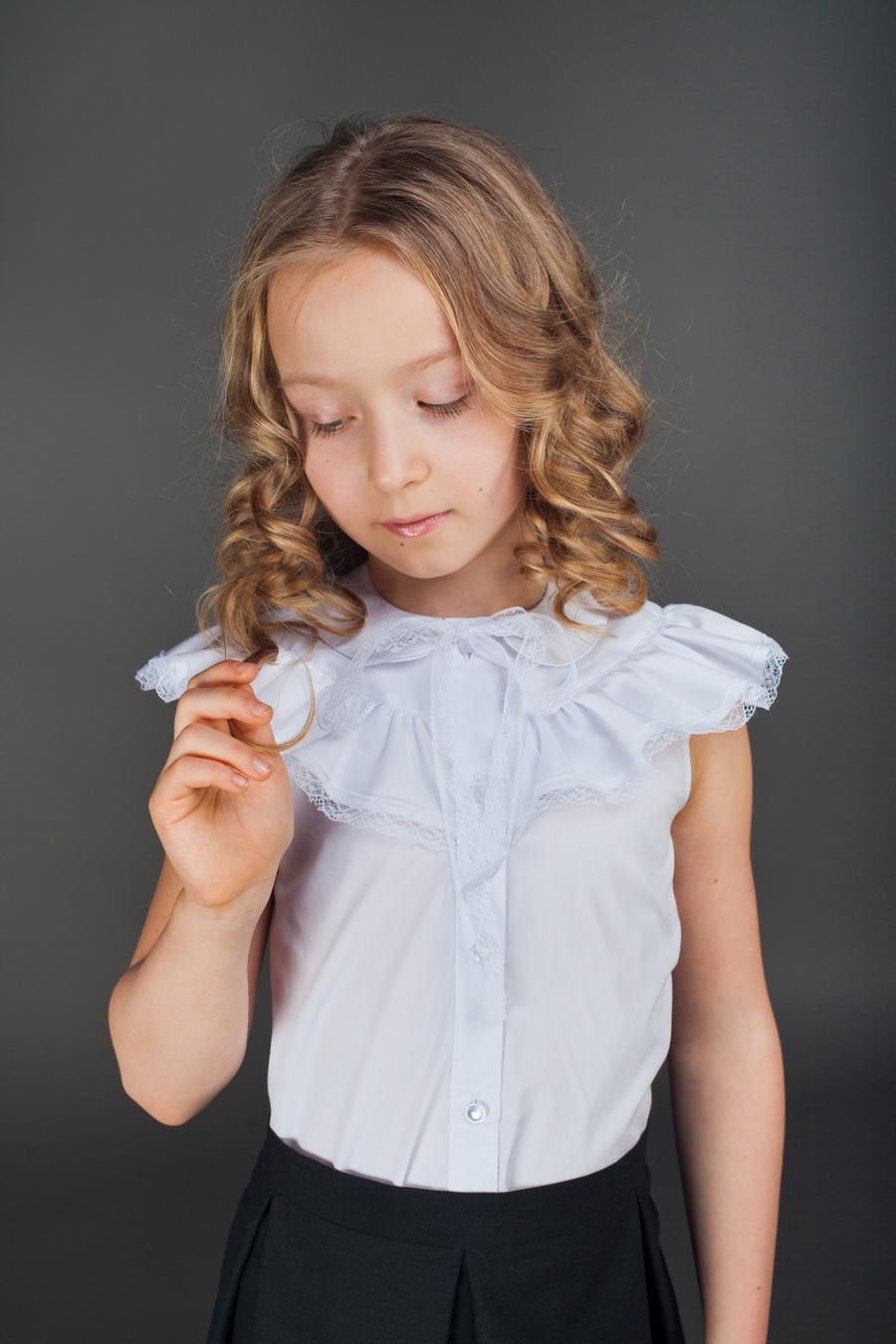 Блузка Для Девочки Своими Руками