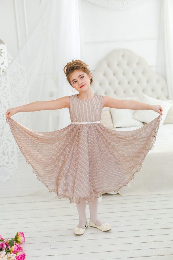 Платья из шифона для девочки
