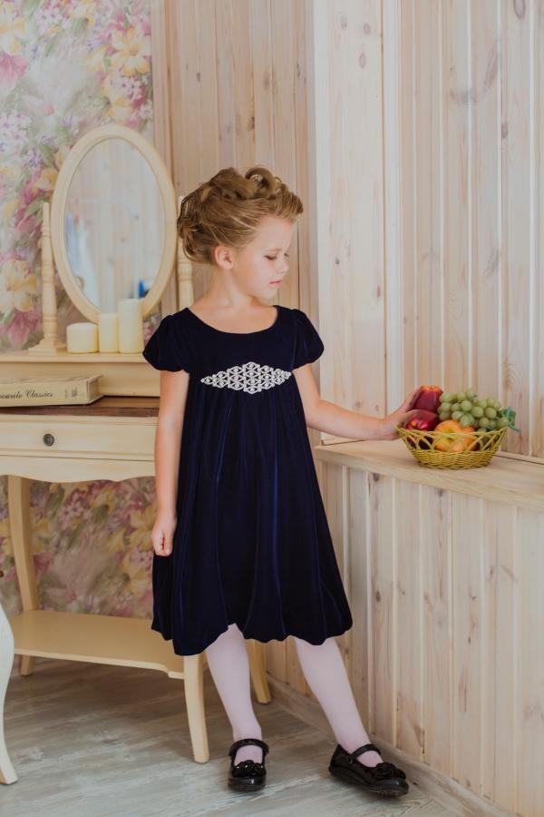 Купить Детское Бархатное Платье