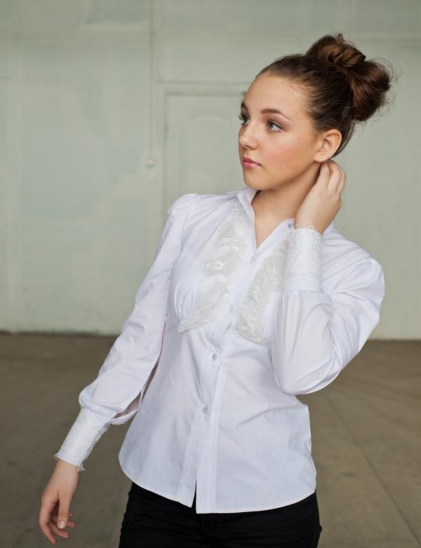 Купить Блузку Белую В Интернет Магазине Для Подростков